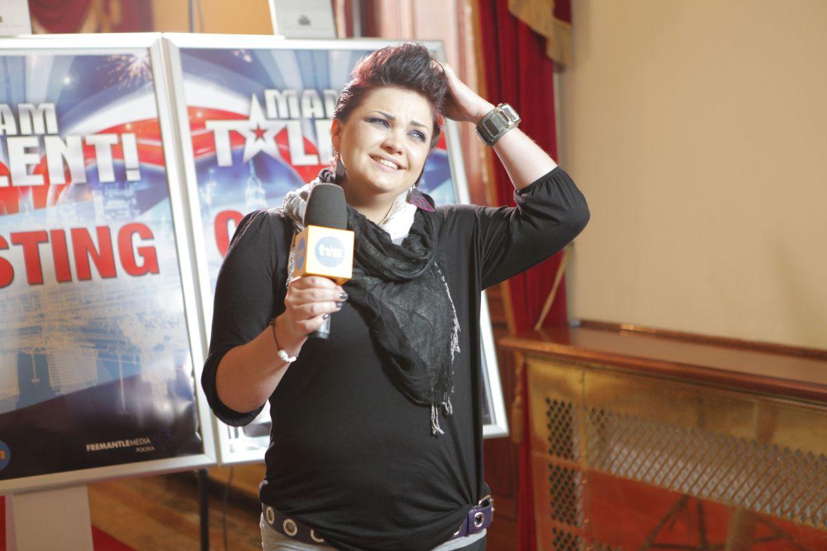 Marta Podulka na castingu